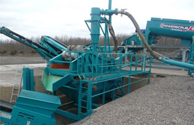 Fluorite Crusher Plant