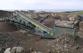 Mobile Limestone Crusher Plant